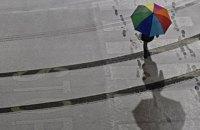 У п'ятницю на заході, півночі та в центрі України дощі та мокрий сніг