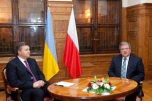 Янукович разочаровал Польшу во время своего визита
