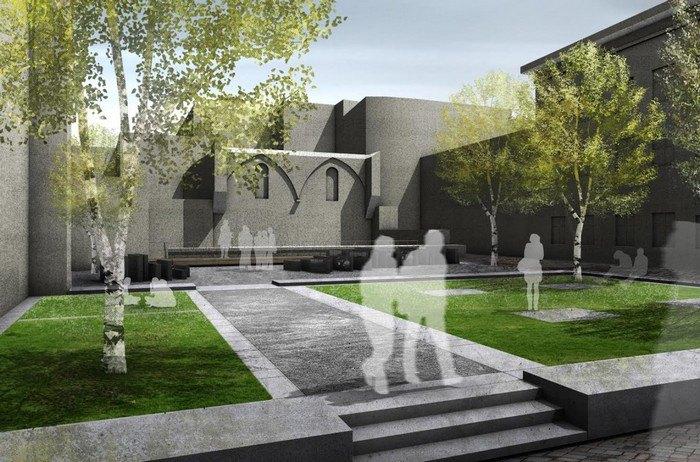 Перша черга проекту «Простір Синагог», проект: Franz Reschke Landschaftsarchitektur