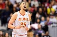 Українець Лень зробив дабл-дабл у матчі НБА