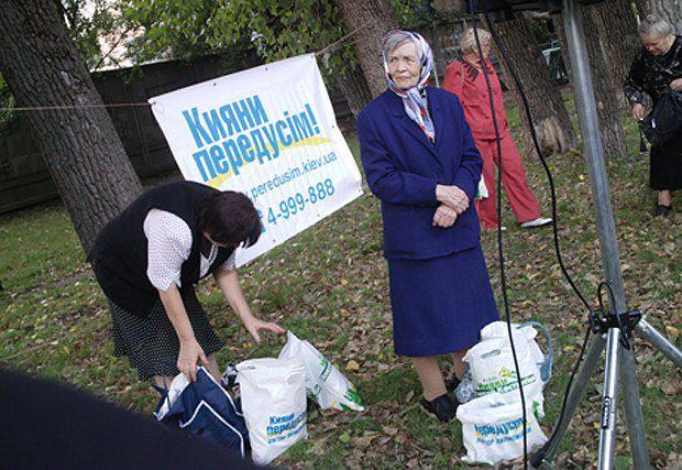 Черновецкий научил бабушек не верить обещаниям, а брать сразу, что дают