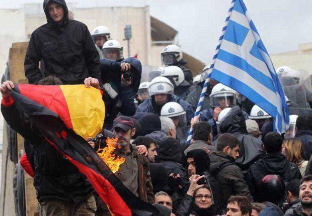 Греция и Германия на грани конфликта