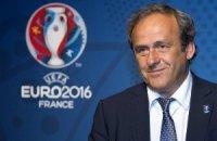Платіні подав у відставку з посади президента УЄФА
