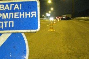 В Харькове автобус с пассажирами влетел в микроавтобус