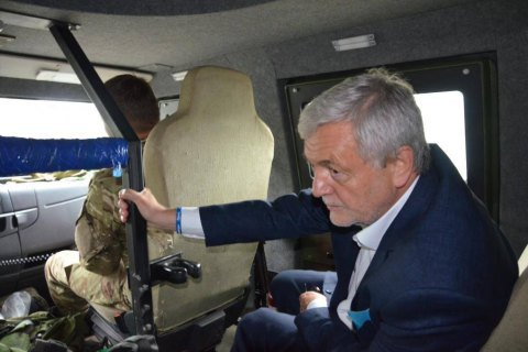 Посол Польщі Пєкло відвідав Авдіївку