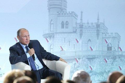 """Путін заявив, що Росія """"ні на кого нападати не збирається"""""""