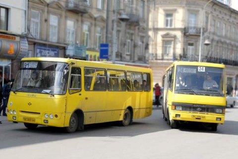 Львівська міськрада оштрафувала перевізників за невихід маршруток на маршрути