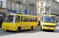 Львовский горсовет оштрафовал перевозчиков за невыход маршруток на маршруты
