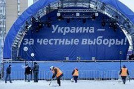 """""""Майдан"""" под ЦИКом разошелся"""