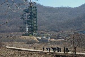 КНДР прекратила строительство площадки для запуска ракет