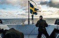 Швеция продолжает охоту за иностранной субмариной