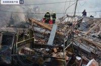 9 человек погибли, более 100 ранены из-за взрыва бензовоза в Китае