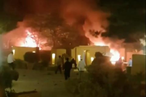 В Пакистане в результате теракта на парковке элитного отеля погибли пять человек
