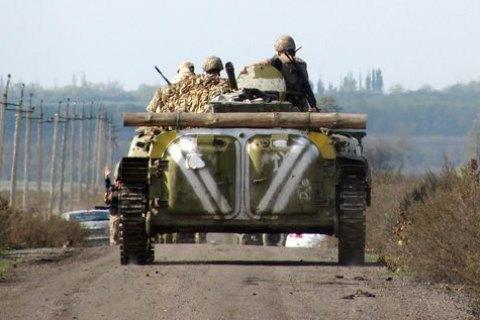 Штаб АТО: НаДонбасі поранені четверо військових тацивільний