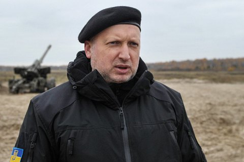 Турчинов пригрозил наступлением на Донбассе