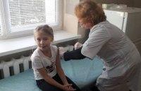 В Україні лише 28,3% дітей вакцинували проти кору і 30% проти поліомієліту
