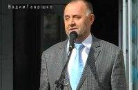 Чиновник зі скорботною міною просить народ голосувати за ПР