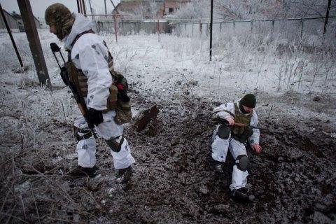 С начала суток потерь среди военных на Донбассе нет, - штаб