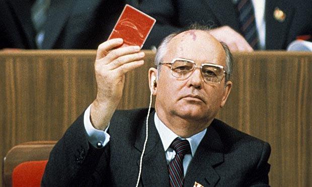 Первый и единственный президент СССР Михаил Горбачев