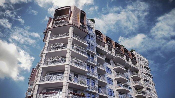 Клубний будинок Spas Sky на вул. Спаській у Києві введений в експлуатацію в березні 2018.