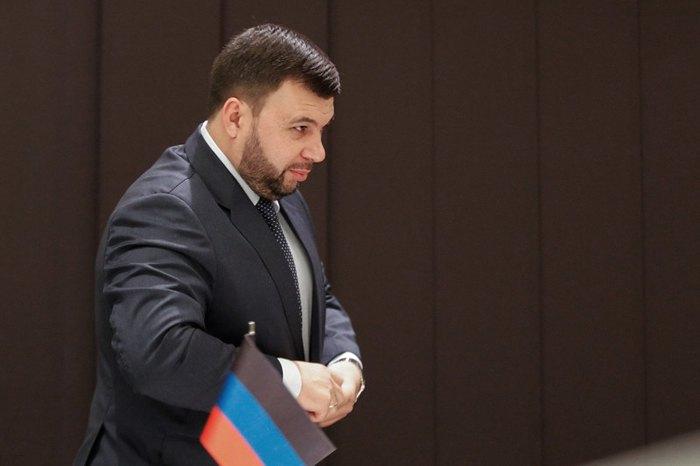 Ставленник Кремля в «ДНР» Денис Пушилин