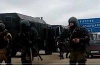 В Дагестане войска окружили протестующих дальнобойщиков