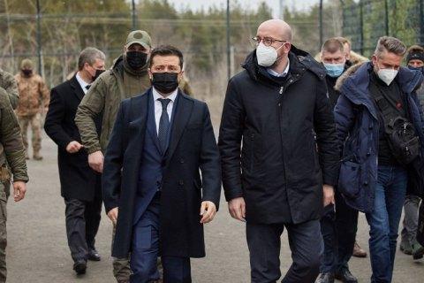 Глава Евросовета пообещал Зеленскому принять участие в Крымской платформе
