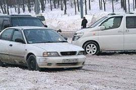 Дороги в Украине замело