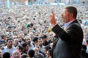Военные Египта заявили Мурси, что он уже не президент