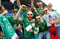 Ірландські вболівальники отримали медаль за зразкову поведінку на Євро-2016