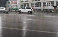 Новозбудований Шулявський міст у Києві не справився з дощем