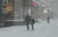 Завтра в Києві обіцяють мокрий сніг з дощем