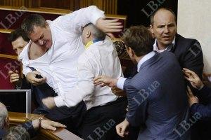ПР: драки в парламенте - это признак демократии