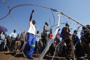 В ЮАР распространяются забастовки шахтеров
