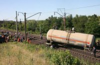 В Харьковской области подорвали цистерну с топливом