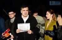 Саакашвили не стал давать показания в СБУ