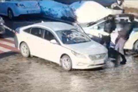 Суд арестовал водителя, который до смерти избил пешехода в Киеве