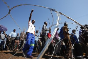 У ПАР поширюються страйки шахтарів