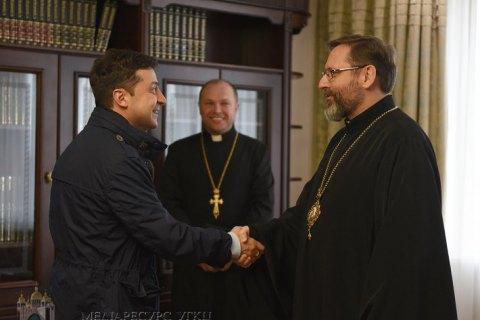 """Зеленский сообщил о """"принципиальном решении"""" относительно пасхальных богослужений"""