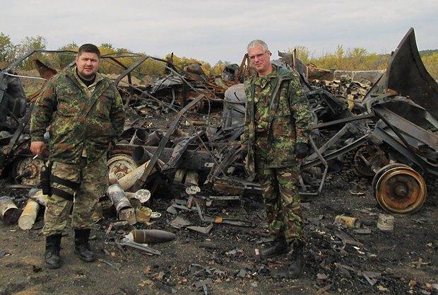 Андрей Козинчук и Юрий Покиньборода