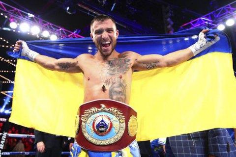 Ломаченко - четвертий у рейтингу найбільш прибуткових боксерів за версією Forbes