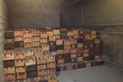 В Запорожье из незаконного оборота изъяли более 150 млн капсюлей для патронов