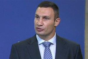 Кличко хочет решить вопрос с Тимошенко до ноября