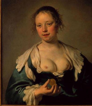 Якоб Баккер «Куртизанка» 1633