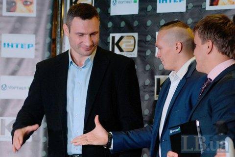 Віталій Кличко готовий надати Усику оригінальну допомогу в його потенційному бою з Ф'юрі
