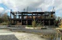 В Солотвино снова сгорела база отдыха