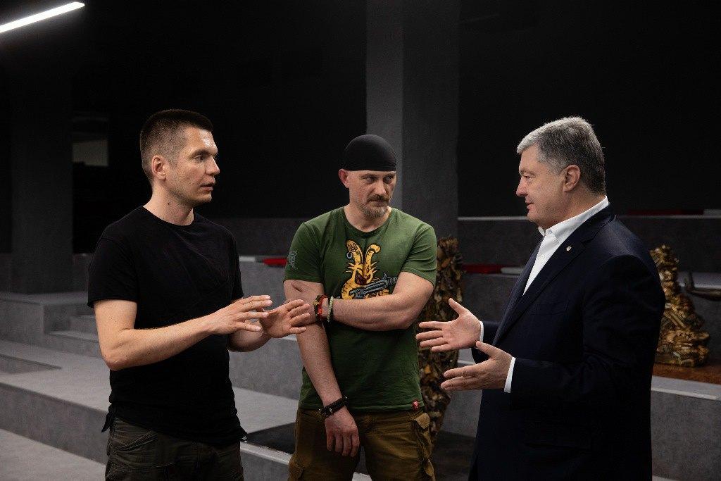 Петр Порошенко, Богдан Масляк, Виталий Дейнега