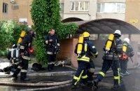 В Одессе из-за пожара в паркинге эвакуировали многоэтажку