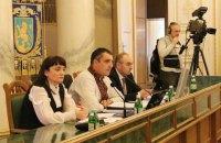 Львовский облсовет поддержал торговую блокаду Донбасса