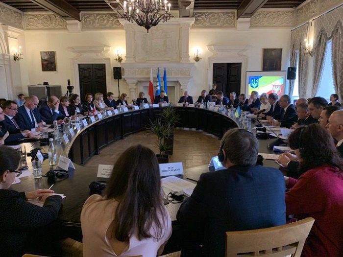 Засідання Української-польської Міжурядової Координаційної Ради з питань міжрегіонального співробітництва
